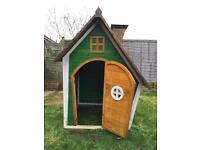 Child's Wendy house garden toy