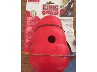 Kong wobbler food feeder NEW