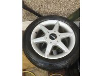 4x Zenden Alloy wheels, jaguar, mercedes, bmw, audi, ford, honda