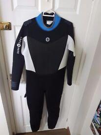 Brand NEW Men's Aqua Lung Bali 3mm Wetsuit Size Large