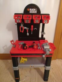 Black and Decker Stand with tools