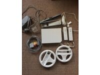 Selling a Nintendo Wii in good condition w/ 2 Controllers and Driving Wheels - £50 ONO