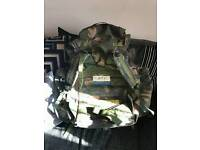Selling my bergen British army bag quick sale £40