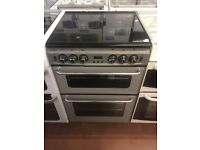 60CM SILVER STOVES GAS COOKER