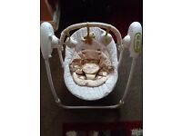 Mothercare travle swing