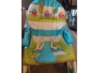 Fisher price baby and toddler seat/rocker
