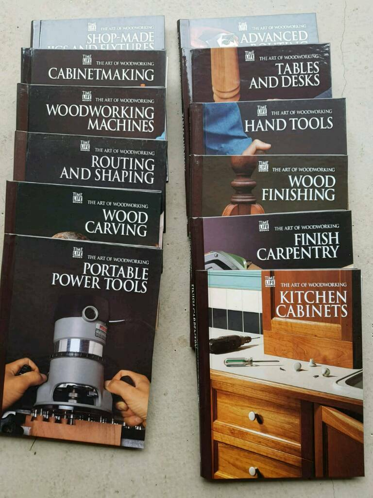 time life books - the art of woodworking - series of 12 books | in ellon,  aberdeenshire | gumtree