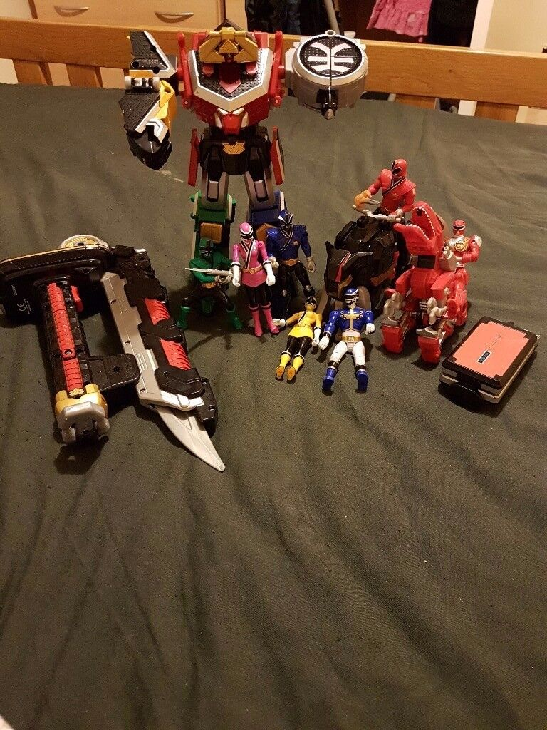 Power Rangers toy bundle