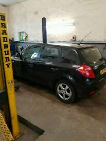 Kia ceed 57 plate 1.6 petrol for breaking