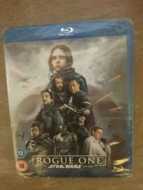 Rogue One :A Star Wars story Blu Ray. Still sealed.