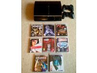PS3 Backward Compatible + 8 Games