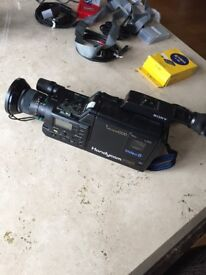 Handycam Pro - Sony video 8 and ancillaries for sale