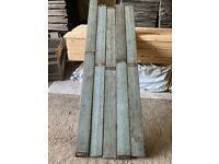 Painted board for wall cladding or wooden flooring