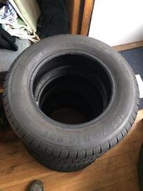 185 70 R14 Orium Tyres set of 4