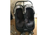 Baby Jogger City Mini Double with extras