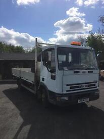 Iveco Eurocargo 75E17 16ft dropside truck only 060.000 miles