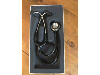 Littmann® Classic II S.E. Stethoscope - Black in excellent condition