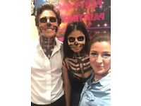 Spooky Halloween Face Painting - Face Painter - Special FX MAke Up All London
