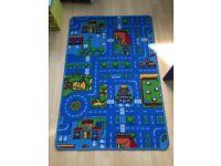 Boys playmat rug