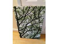 Canvas tree