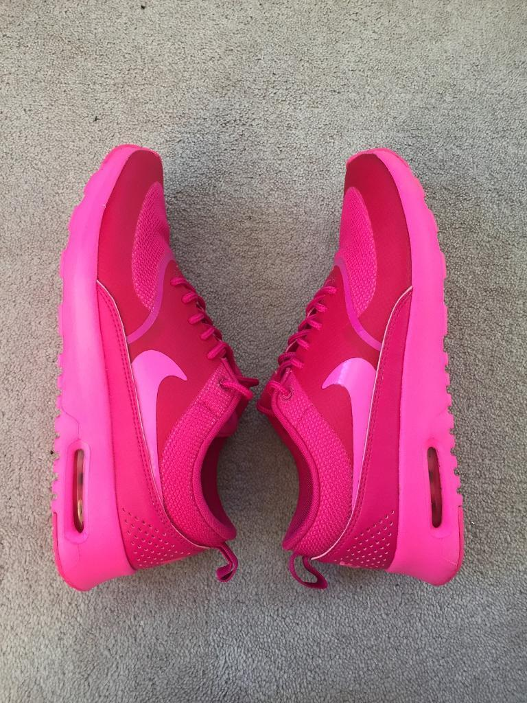 nike wmns air max thea pink pow fireberry