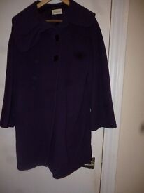 New Cocoon Coat Never Worn Size 8