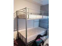Bunk bed, single