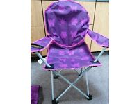 Child's camping chair - Lightweight - Great condition
