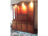 Rossmore Cherry Living/Dining room unit in excellent condition