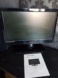"""Technika LED 18.5"""" HD Flat Screen TV with built in Freeview Model 19-248"""