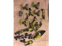 Ryobi power tools for sale