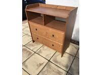 IKEA changing table 2 drawers