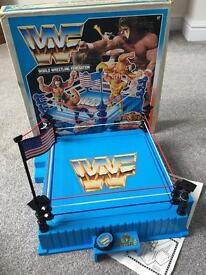 WWF Hasbro wrestling ring