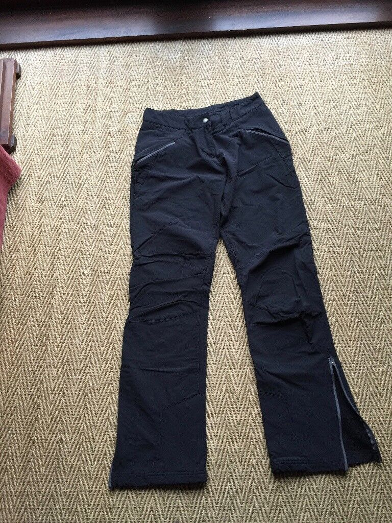 WALKING TROUSERS - FORCLAZ 900 - WARM, LINED, WIND RESISTANT - WOMANS SIZE 10