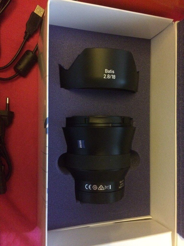 sony a7S II plus ziess batis 18mm 2.8 samyang t.1.5 24mm and nd filter plus extras