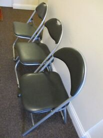 3 Fold Up Chairs.