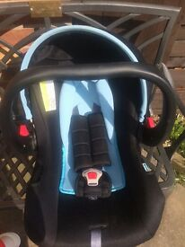 Lady bird baby boys car seat