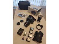 CANON 6D + 24-105 L Lens Bundle **bag & accessories**