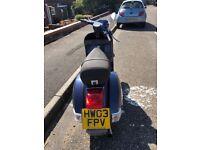Vespa px125e Disc Brake 2003 Very low mileage (4700 km = under 3000 miles)