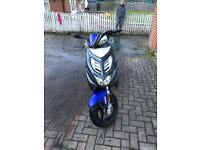 2014 Yamaha aerox 50cc dw-restrictioned