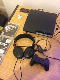 PS3 for sale with 3 games