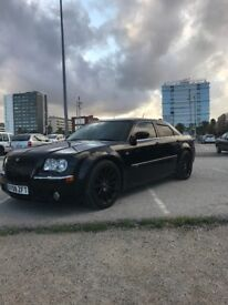 chrysler 300 black srt design fantastic example very low milage 2 owners from new