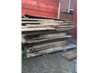 Used plywood