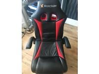 REDUCED PRICE Immaculate condition: X Rocker wireless gaming chair