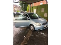 Toyota Yaris really good condition cheap to run