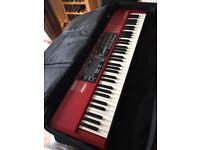 Keyboard case/gig bag.