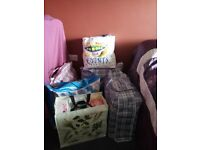 LARGE AMOUNT OF LADIES ITEMS INC TOPS ALL BRAND NEW GOOD STOCK FOR MARKETS/BOOT FARE RE SELL !!!!!!!