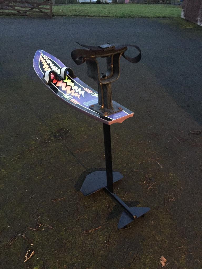 hydrofoil air chair wakeboard waterski speedboat in broxburn west