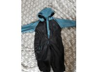Hippychick waterproof all in one suit for age 2-3