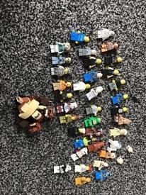 Bundle Lego figures star wars etc RARE